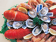 A platter of WA sourced seafood